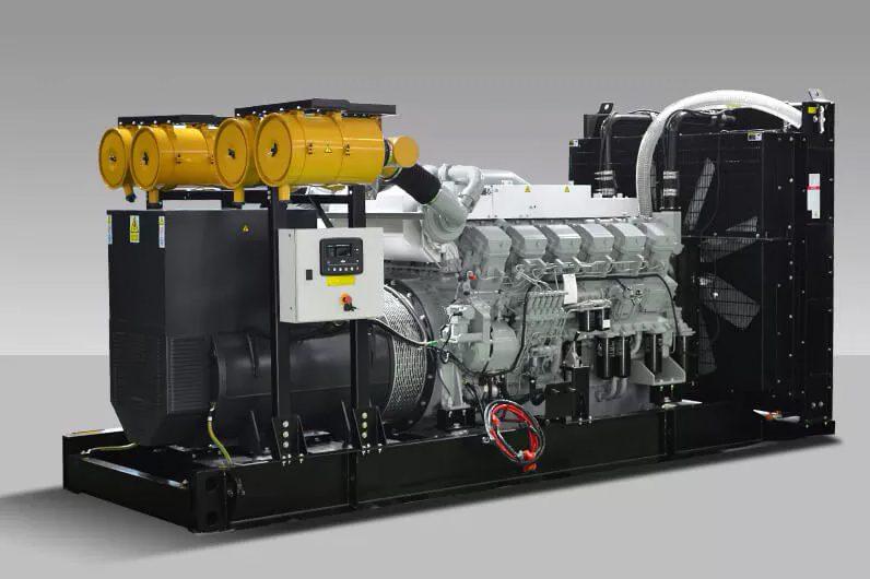 De_kota_Mitsubishi_Generator_Set